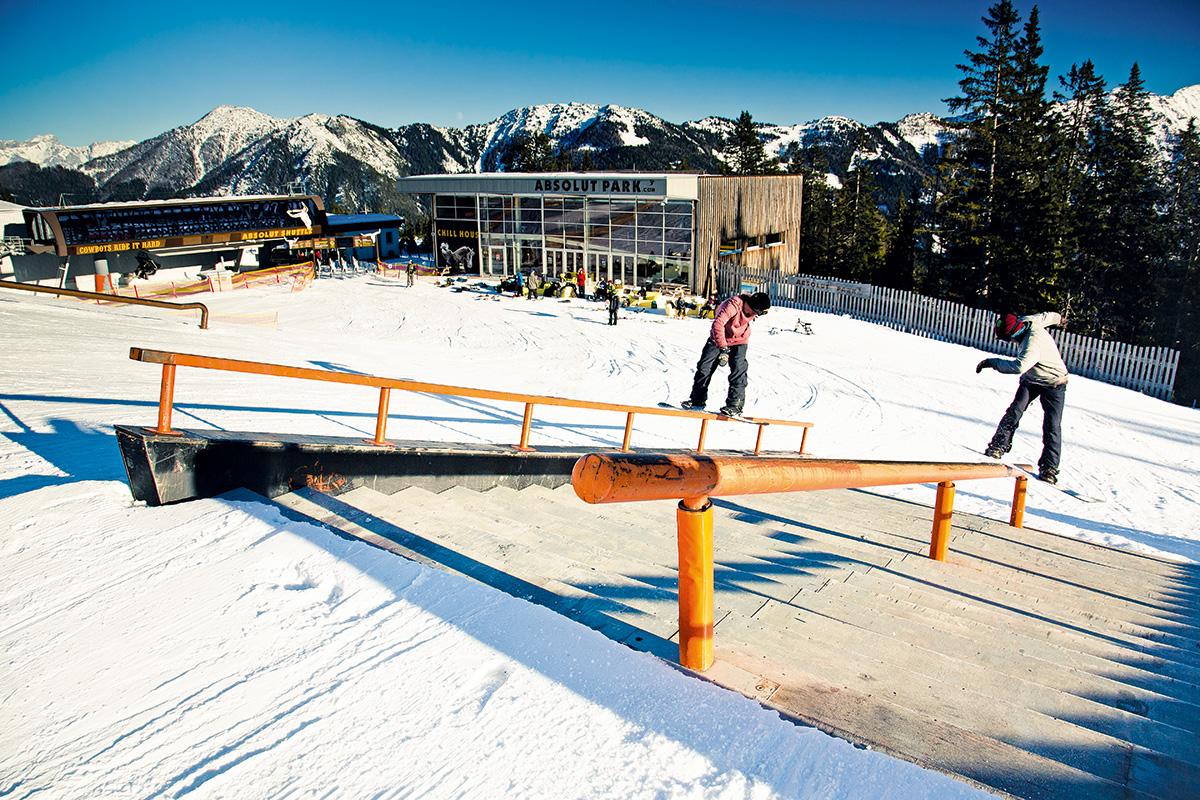 Freestyle Park Österreich
