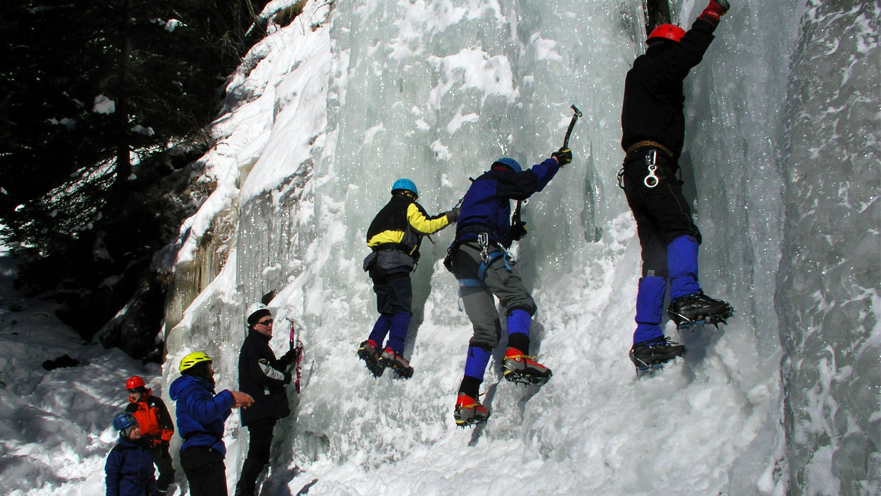 Eisklettern Österreich