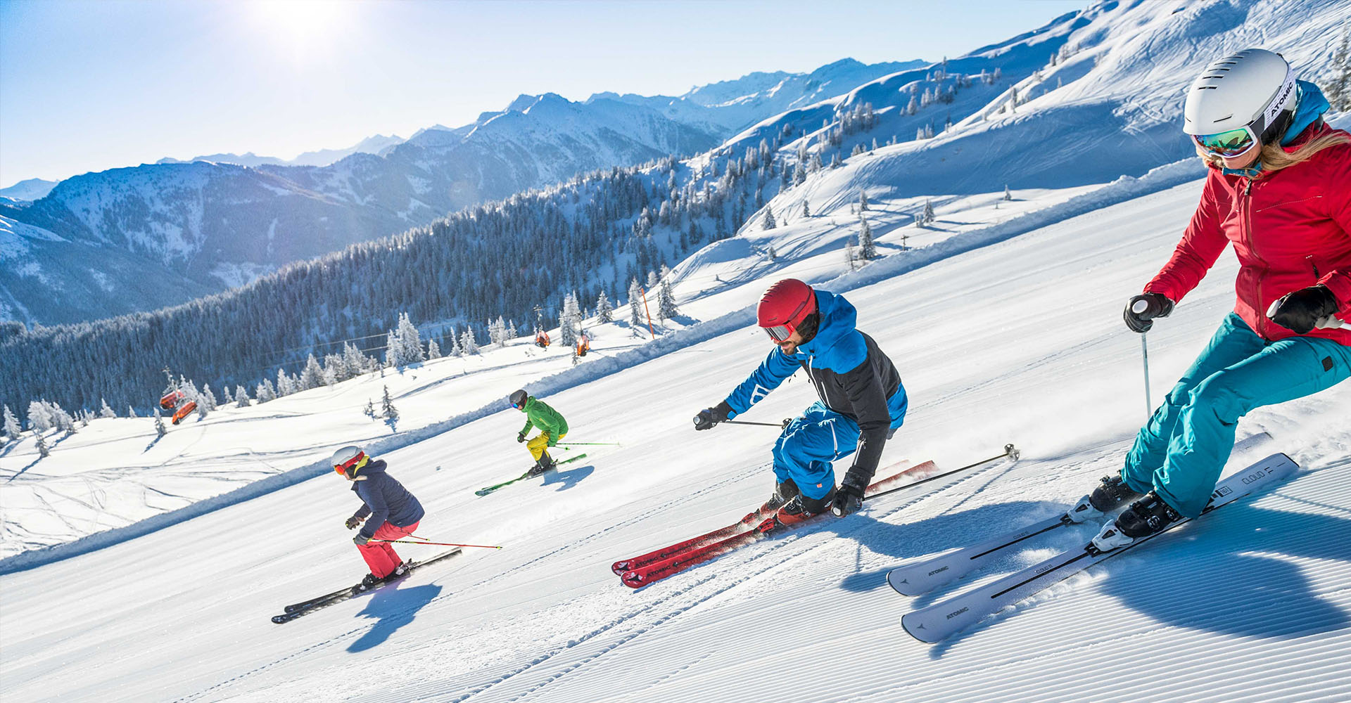 Ski- und Winterurlaub in Flachau - Appartements Bliem und Sonnfeld