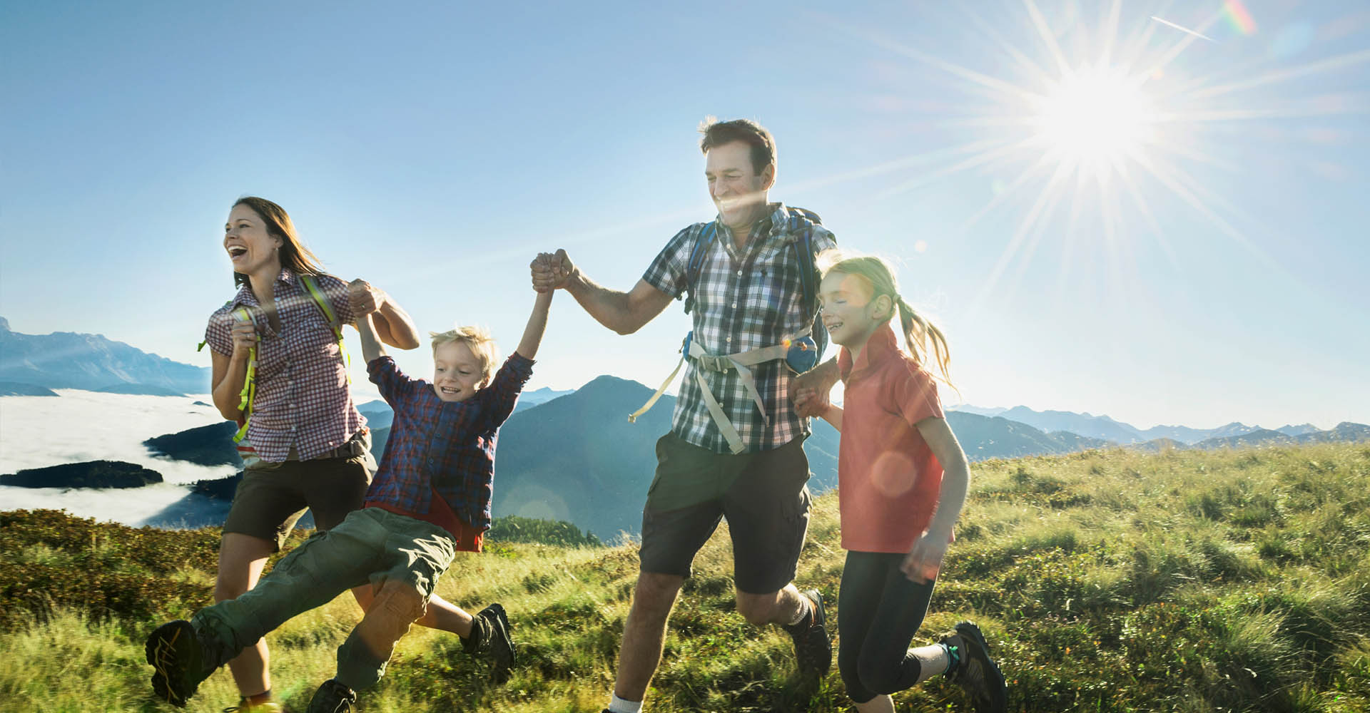 Sommerurlaub in Flachau - Appartements Bliem und Sonnfeld