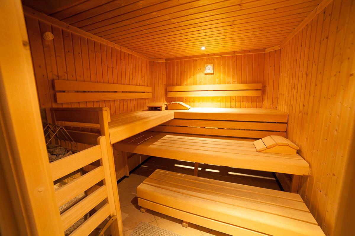 Saunabereich im Appartementhaus Bliem in Flachau, Österreich