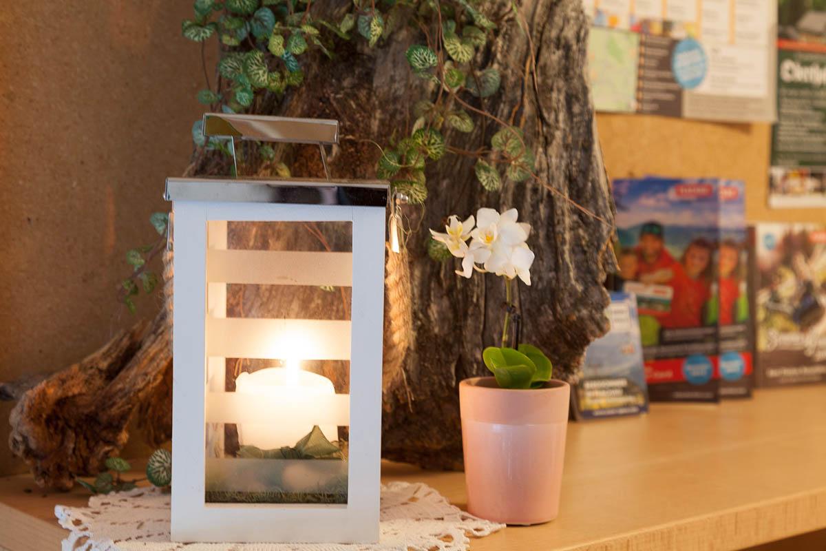 Liebevolle Dekorationen in der Unterkunft - Appartements Sonnfeld in Flachau, Salzburger Land