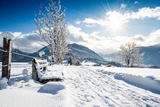 Flachau im Salzburger Land, Österreich