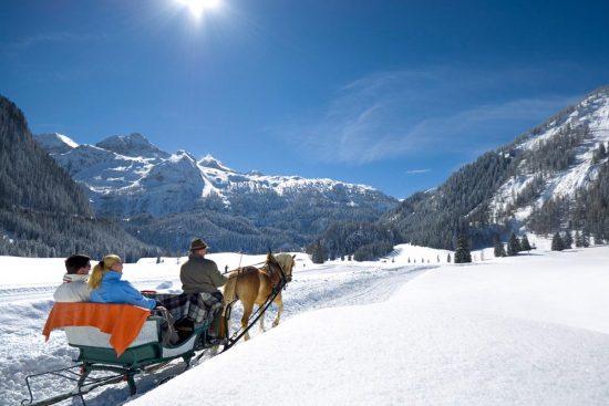 Pferdeschlittenfahrten in Flachau, Salzburger Land