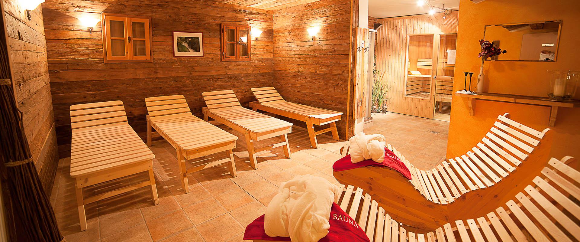 Sauna - Sommer-& Winterurlaub Appartements Sonnfeld - Flachau